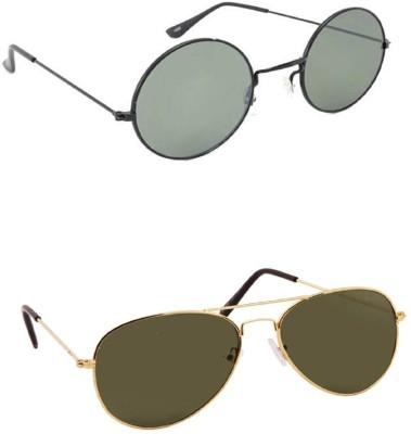 Simran Round, Aviator Sunglasses