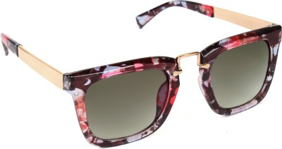 6by6 SG749 Wayfarer Sunglasses(Black)