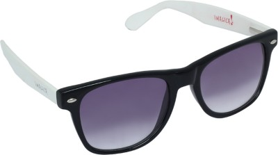 Imagica White Wayfarer Sunglasses