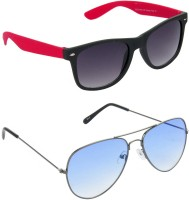 Red Leaf RCMB405_1 Wayfarer Aviator Sunglasses(For Boys)