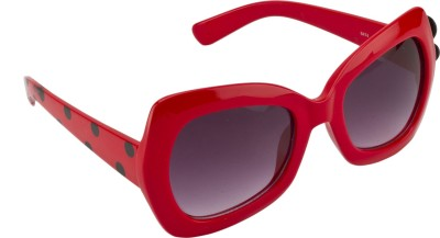 Swiss Design Polka Dots Over-sized Sunglasses