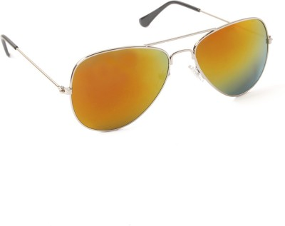 6by6 SG158 Aviator Sunglasses(Multicolor)