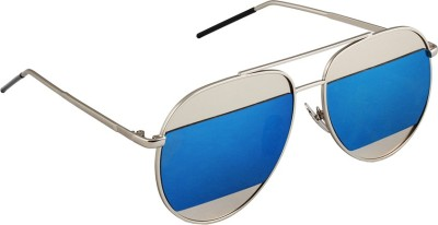 6by6 SG1664 Aviator Sunglasses(Blue)