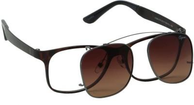 IZARRA Magnetic Attachment of Frame & Wayfarer Sunglasses