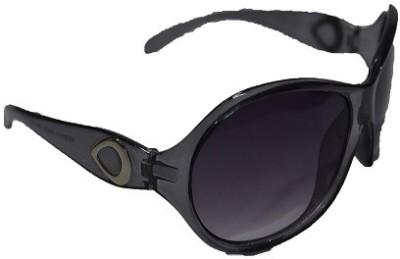 Pinnacle Glairs Wrap-around, Cat-eye Sunglasses