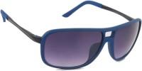 Joe Black C4 Rectangular Sunglasses(Violet)