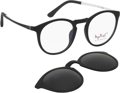 Aye Roof Contemporary Round Sunglasses