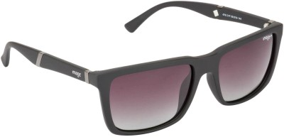 IMAGE S478-C1P Rectangular Sunglasses(Brown, Grey)