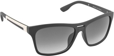 IRAYZ 1231 Wayfarer Sunglasses(Grey)