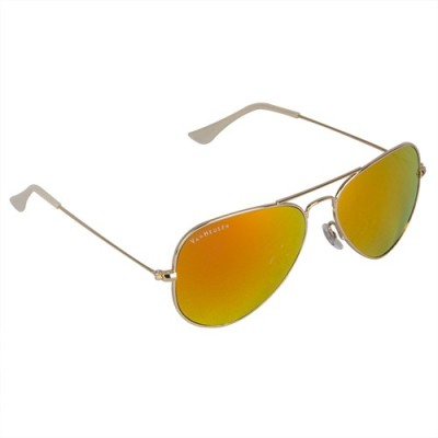 Van Heusen VH255 C3 Aviator Sunglasses(Orange)