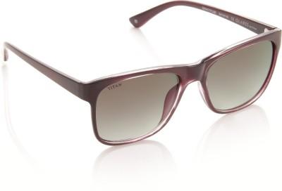 Glares by Titan G204CTFLMB Sunglasses(Grey)
