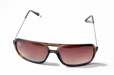 William Cooper Multicolor Rectangular Sunglasses
