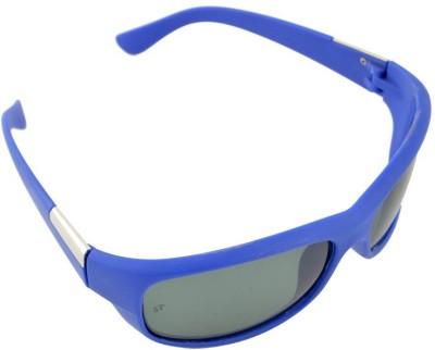Lime Rectangular Sunglasses