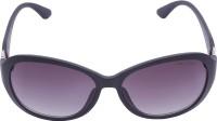 Miami Blues MB8018A Oval Sunglasses(Violet)