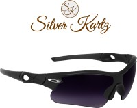 Silver Kartz Unisex Sport Men and Women Sports Sunglasses(Blue)