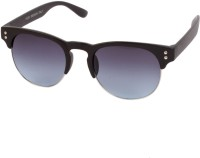 Louise & Harris LHS-022 Oval Sunglasses(Blue)