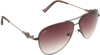 Voyage 1833MG1069 Aviator Sunglasses(Brown)