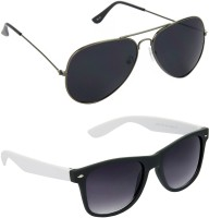 Red Leaf RCMB088_1 Aviator Wayfarer Sunglasses(For Boys)