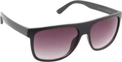 Farenheit 1212-C1 Rectangular Sunglasses(Violet)