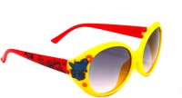 Goggy Poggy PBABY-KD6120-YEL-RED Round Sunglasses(For Girls)
