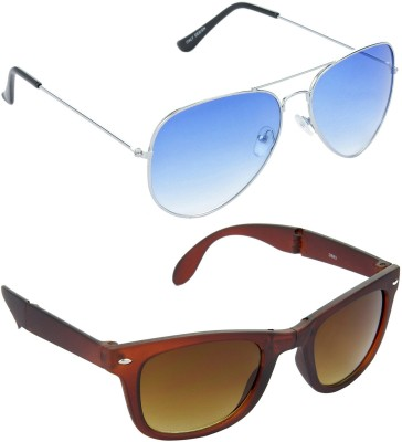 Red Leaf RCMB038_1 Aviator, Wayfarer Sunglasses(For Boys)