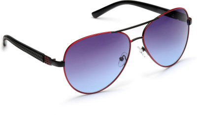 Olvin OL241-03 Aviator Sunglasses(Blue)
