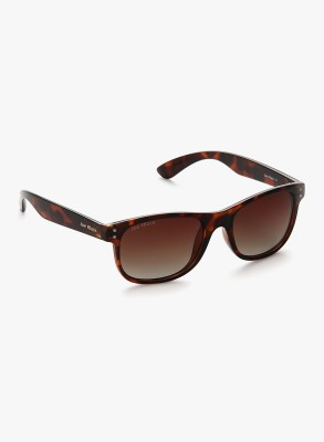 Joe Black JB-758-C2P Rectangular Sunglasses(Brown)
