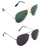 Abazy Cmbo-1-18 Aviator Sunglasses (For ...