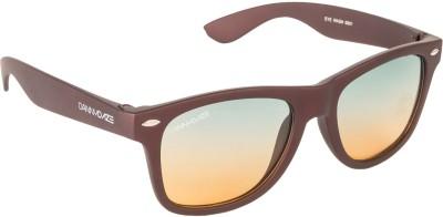 Danny Daze D-801-C6 Wayfarer Sunglasses(Green)