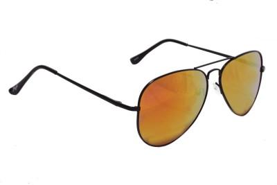 Floyd 30255_BLK_FIRE_MERCURY Aviator Sunglasses(Multicolor)
