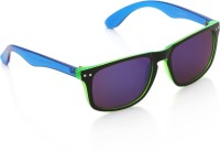 Joe Black JB-1015-C5 Wayfarer Sunglasses(Violet)