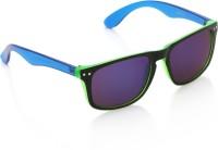 Joe Black JB-1015-C5 Wayfarer Sunglasses(Violet)