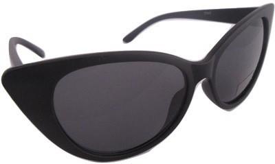 Euro Trend Black Kitty Cat-eye Sunglasses
