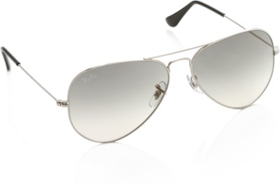 Ray-Ban 0RB3025 003/32 Aviator Sunglasses(Grey)