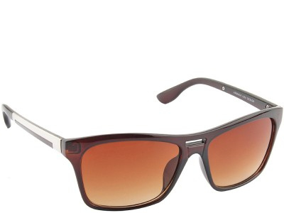 IRAYZ 1226 Wayfarer Sunglasses(Brown)