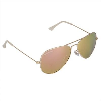 Van Heusen VH255 C2 Aviator Sunglasses(Pink)