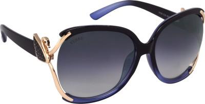 Verre superior women03 Over-sized Sunglasses(Black)