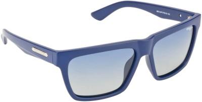 IMAGE S483-C4P Rectangular Sunglasses(Blue)