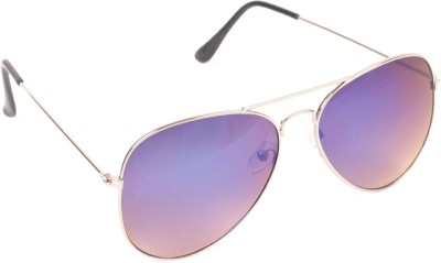 6by6 SG168 Aviator Sunglasses(Multicolor)