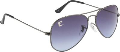 Clark n, Palmer Blue Gradient RB 730 Aviator Sunglasses