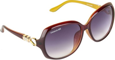 Danny Daze D-261-C5 Over-sized Sunglasses(Black)