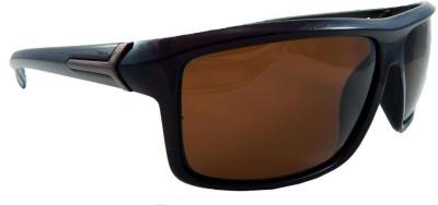 MATRIXX Polaroid Rectangular Sunglasses