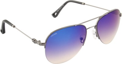 Voyage 1863MG1098 Aviator Sunglasses(Blue)