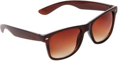 Look-Kool LK0000405 Wayfarer Sunglasses(Brown)