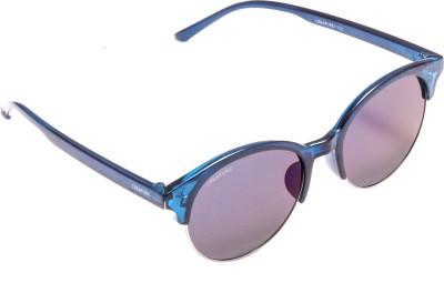 Creature em-003 Wayfarer, Round Sunglasses(Violet)