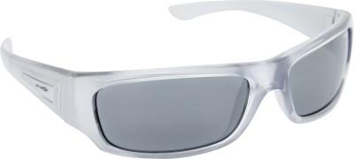 Arnette AN_4157_BTBLKSIL Rectangular Sunglasses(Black)