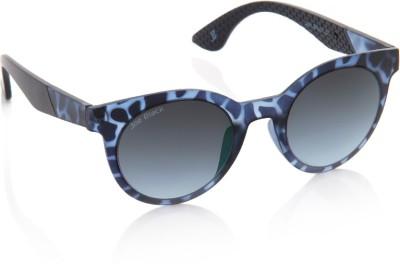 Joe Black JB-594-C3 Round Sunglasses(Blue)