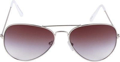 HDClair Solid Grace Aviator Sunglasses