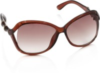 Gio Collection SH13046-1317 Brown P12324 Over-sized Sunglasses(Brown)