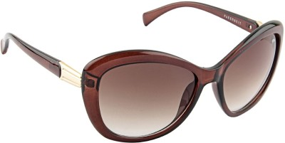 Farenheit 1817 Oval Sunglasses(Brown)